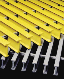fiberglass grate - alternative to steel grating supplier across Canada