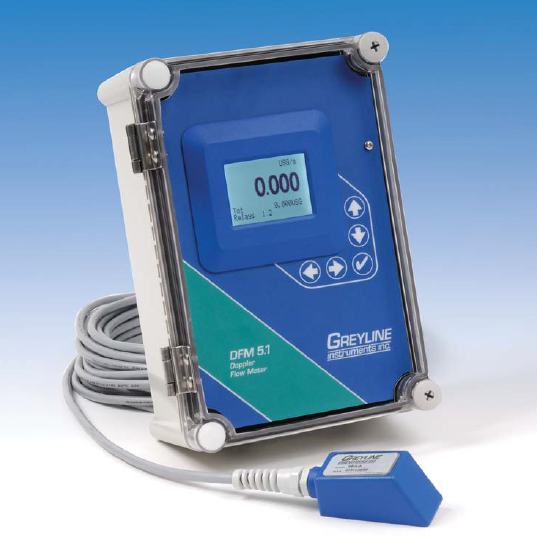 Greyline DFM 5.1 Doppler Flow Meter