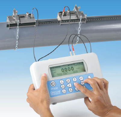 Greyline PT400 Portable Ultrasonic Flowmeter - from Southwell Corp and Fiberman