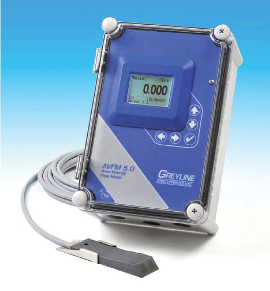 Greyline AVFM 5.0 Area-Velocity Flow Meter
