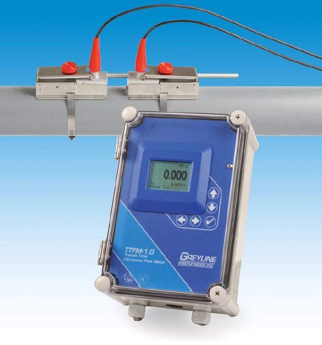 Greyline TTFM 1.0 Ultrasonic Flowmeter