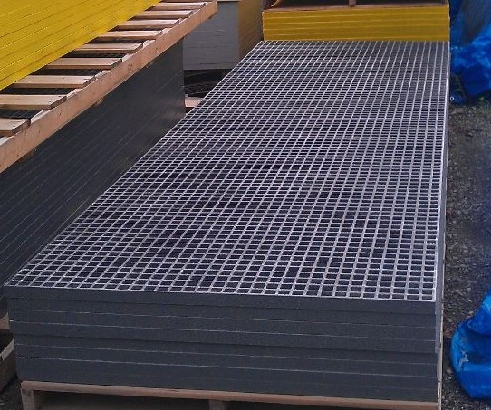Fiberglass Grating Panels from Fiberman