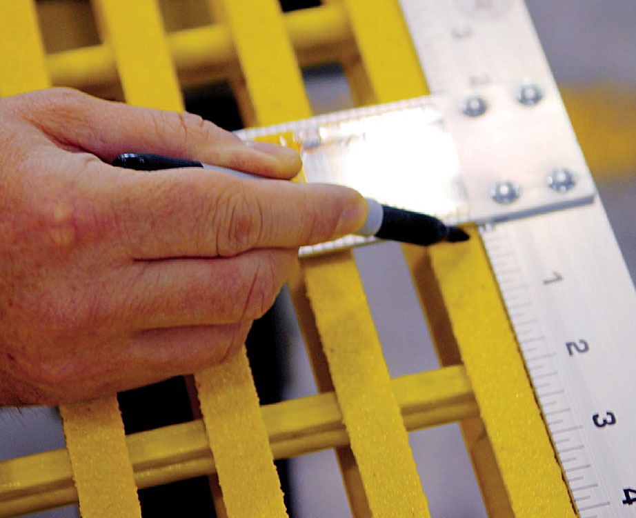 How To Cut Fiberglass Grating Fiberman