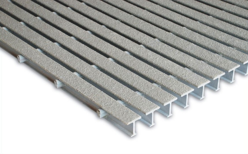 Pultruded Fiberglass Grating I 4000 4ft X 20ft X 1 Inch